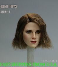 KIMI KT010 B 1/6 Female Head Sculpt Short Hair For Hot Toys Phicen Figure ❶USA❶