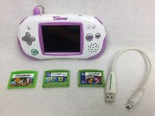 Leapfrog Leapster Explorer with Pink Leapster Explorer w/ 3 Games Spongebob Ferb