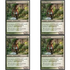 4 x DRYAD MILITANT NM mtg Return to Ravnica Green/White - Dryad Soldier Unc