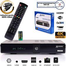 Sat Receiver 4k PVR Ready mit Aufnahmefunktion IZYBOX DVB-S2 HDMI WLAN WIFI