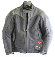 Dainese Corbin D-Dry Leather Jacket Size 48 PN 201533793-631-48