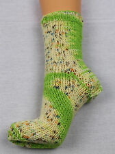 Kuschelsocken,handgefärbte  Wolle-8-fach .Gr.42