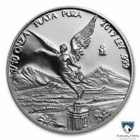 2017 1/10 oz Mexico Silver Libertad Proof Coin (In Capsule)