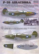 Print Scale Decals 1/72 BELL P-39 AIRACOBRA Fighter