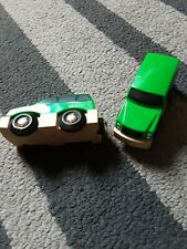 2 Brio Wooden Cars.immaculate