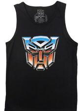 Transformers Autobots Shield Logo Symbol Autocon Tank Top Shirt, NEW UNWORN