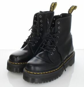 S11 $180 Women's Sz 9 M Dr. Marten's Jadon Leather Boots In Black