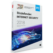 Bitdefender Internet Security 2018 Windows 3 PC 1 Jahr | inkl. VPN