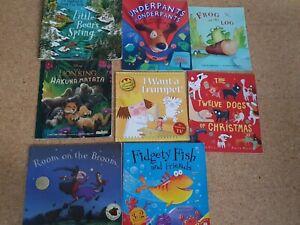Kids Story Books Bundle Toddler Preschool  x 8 Stories VGC Bedtime Reading Books