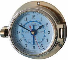 Meridian Zero / Channel Chrome Tide Clock 18049