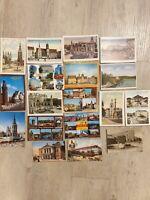 AK Postkarte Halle a.d.Saale - Heiderand , Sammlung 17 Stück