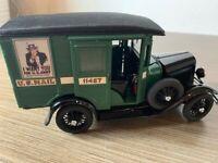 Danbury Mint 1931 U.S MAIL TRUCK FORD 1:24 DIECAST NIB