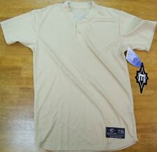 Athletic Tshirt Golden Easton Skinz Wicking Henley Men size Small New