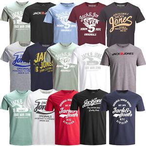 Jack and Jones Herren T-Shirt Regular / Slim Fit Rundhals Print kurz UVP 14,99 €
