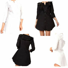 Summer Mini Shirt Dresses