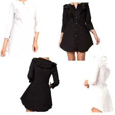 Summer 3/4 Sleeve Shirt Dresses for Women