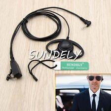 D Shape Headset/Earpiece Mic for Motorola Talkabout Walkie Talkie 2.5mm 1-Pin US