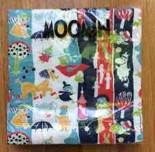 Moomin paper napkins, 33x33cm, 20 counts, Muumi, Moomintroll Finland blue