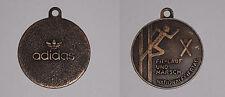 Adidas trefoil logo vtg medal plaque pendant fit-lauf und marsch running