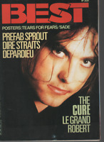 Magazine Best n° 209 (+ posters) Sade The Cure Dire Straits Tears For Fears