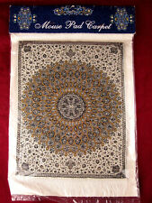 NEW Oriental Area Rug MOUSE PAD - Turkish Style Carpet Mousemat Persian RaRe EX