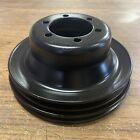 Mopar Plymouth Dodge crank pulley 383 440 2 groove even bolt pattern 71/4x31/8 E