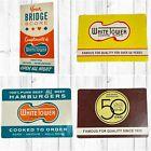 Lot of White Tower Hamburger Restaurant Calendar Cards & Bridge Score Pad