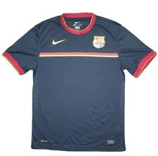 Nike Authentic Fcb Soccer Jersey Mens Large