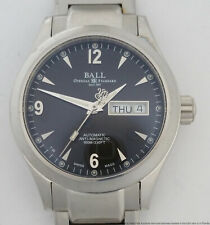 Ball Engineer II NM1020C Stainless Steel Automatic Day Date $2499 Mens Watch