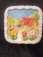 Vintage Himark Giftware Ceramic Jello Mold Country Cottage Kitchen Decor Hanging