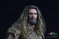 "1/6 Scale Jason Momoa Male Head Carving Model PVC Toy F 12"" Male Action Figure"