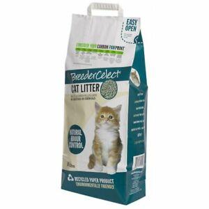 Breeder Celect Cat Kitten Litter Pellets 99& Recycled Paper 20ltr Damaged Bag