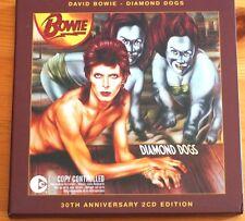 David Bowie Diamond Dogs 30th Double CDs EMI Carded Digipack Mint 19 trk EU