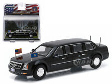 """2009 CADILLAC LIMOUSINE """"THE BEAST"""" BARACK OBAMA 1/43 BY GREENLIGHT 86110 D"""