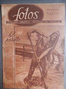 DIVISIÓN AZUL REVISTA FOTOS 2ª GUERRA MUNDIAL 6/09/41 ASALTO S PETERSBURGO