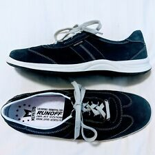 Mephisto Leather Shoes Blue Runoff Air Jet Caoutchouc Walking Comfort W Sz 10 US