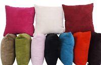 "Large Plain 24""x 24"" Super Soft Chenille Stripe Cushion Covers"