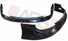 2005 2006 Front Lip for Toyota Corolla Atlas Style Black Unpainted ABS Plastic