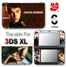 Justin Bieber Popular New SKIN VINYL STICKER DECAL COVER #2 for Nintendo 3DS XL