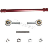 190MM Red Shift Rod Linkage Swivel Ends Tie Rod Ends Position Rear Set Universal