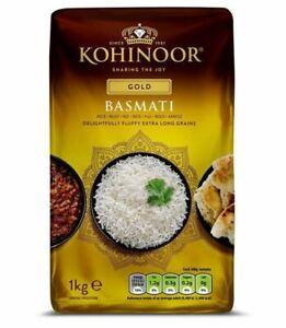 Kohinoor Basmati Rice Gold Long Grain Rice 1 KG