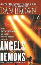 Angels and Demons by Dan Brown (paperback)