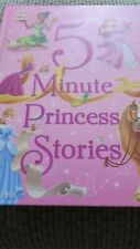 Disney - 5 Minute Princess Stories - Book Hardcover