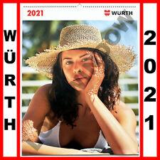 WURTH GIRLS 2021 Sexy Super Model Bikini Swimsuit Photo Wall Calendar Posters