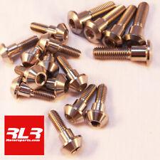 SUZUKI GSXR 750-1000 K9 Titanium disc bolt set front/rear - 17 titanium bolts