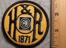 H & R 1871 PATCH (GUNS, BULLETS, HUNT)