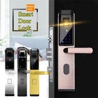 4 Ways Smart Door Lock Fingerprint Touch Password