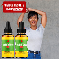Weight Loss Diet Drops Metabolism Booster - Weight Loss & Belly Fat Burner x2