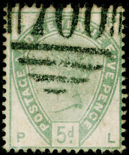 SG193, 5d dull green, USED. Cat £200. PL