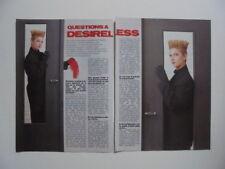 Desireless Depeche Mode James Brown Graziella George Michael clippings France